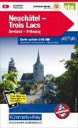 Neuchâtel Trois Lacs Nr. 08 Velokarte 1:60 000. 1:60'000 von Hallwag Kümmerly+Frey AG (Hrsg.)