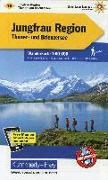 Jungfrau-Region Wanderkarte Nr. 18. 1:60'000 von Hallwag Kümmerly+Frey AG (Hrsg.)