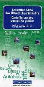 Schweiz Karte des Öffentlichen Verkehrs. 1:275'000 von Hallwag Kümmerly+Frey AG (Hrsg.)