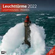 Leuchttürme Kalender 2022 - 30x30 von Ackermann Kunstverlag (Hrsg.)