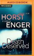 Cover-Bild zu Death Deserved von Enger, Thomas