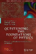 Cover-Bild zu Questioning the Foundations of Physics (eBook) von Foster, Brendan (Hrsg.)