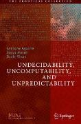 Cover-Bild zu Undecidability, Uncomputability, and Unpredictability von Aguirre, Anthony (Hrsg.)