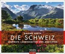 Cover-Bild zu Die Schweiz Kalender 2022 von Gerth, Roland