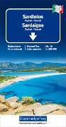 Sardinien Regionalkarte Italien Nr. 16, 1:200 000. 1:200'000 von Hallwag Kümmerly+Frey AG (Hrsg.)