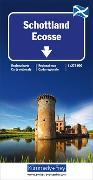 Schottland Strassenkarte. 1:275'000 von Hallwag Kümmerly+Frey AG (Hrsg.)