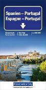 Spanien - Portugal Strassenkarte. 1:1'000'000 von Hallwag Kümmerly+Frey AG (Hrsg.)