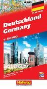 Deutschland Strassenkarte 1:750 000. 1:750'000 von Hallwag Kümmerly+Frey AG (Hrsg.)