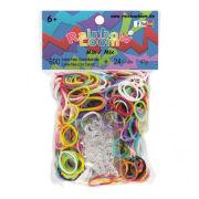 Rainbow Loom Gummibänder Mix Opaque