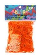 Rainbow Loom Gummibänder Orange