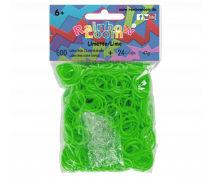 Rainbow Loom Gummibänder Limettengrün Opaque