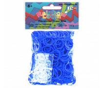 Rainbow Loom Gummibänder Ozeanblau Opaque / Ocean blue