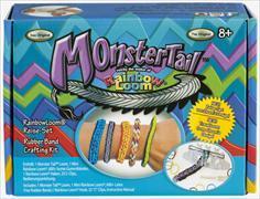 Rainbow Loom Monster Tail Reise-Set