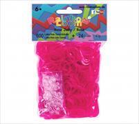 Rainbow Loom Gummibänder Rose Jelly