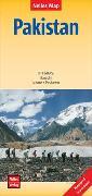 Cover-Bild zu Nelles Map Landkarte Pakistan | Pakistán. 1:1'500'000 von Nelles Verlag (Hrsg.)