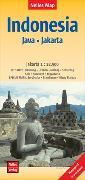 Cover-Bild zu Nelles Map Landkarte Indonesia : Java, Jakarta. 1:750'000 von Nelles Verlag (Hrsg.)