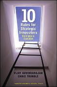 Cover-Bild zu Ten Rules for Strategic Innovators: From Idea to Execution von Govindarajan, Vijay