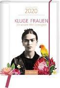 Cover-Bild zu Buchkalender Kluge Frauen 2020