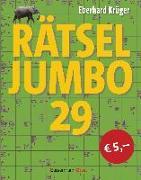 Cover-Bild zu Rätseljumbo 29 von Krüger, Eberhard