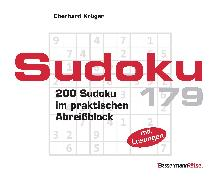 Cover-Bild zu Sudoku Block 179 (5 Exemplare à 2,99 ?) von Krüger, Eberhard