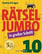 Cover-Bild zu Rätseljumbo in großer Schrift 10 von Krüger, Eberhard