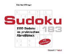 Cover-Bild zu Sudoku Block 183 (5 Exemplare à 2,99 ?) von Krüger, Eberhard