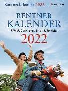 Cover-Bild zu Rentnerkalender 2022. Der beliebte Abreißkalender bringt Schwung in den Ruhestand von Hengstberger, Dorothea