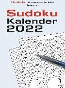 Cover-Bild zu Sudokukalender 2022. Der beliebte Abreißkalender mit 800 Zahlenrätseln von Krüger, Eberhard