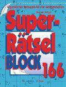 Cover-Bild zu Superrätselblock 166 (5 Exemplare à 3,99 ?) von Krüger, Eberhard
