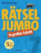 Cover-Bild zu Rätseljumbo in großer Schrift 7 von Krüger, Eberhard