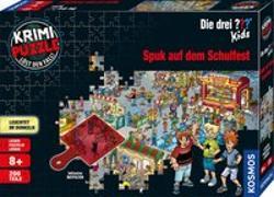 Cover-Bild zu Krimipuzzle ??? Kids 200 T. / Spuk auf dem Schulfest