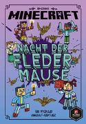 Cover-Bild zu Minecraft Erste Leseabenteuer - Nacht der Fledermäuse von Eliopulos, Nick