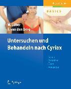 Cover-Bild zu Untersuchen und Behandeln nach Cyriax (eBook) von Berg, Frans van den