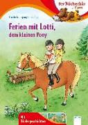 Cover-Bild zu Ferien mit Lotti, dem kleinen Pony von Nahrgang, Frauke