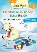 Cover-Bild zu Lesetiger - Ich will dein Freund sein, lieber Eisbär! von Frey, Jana