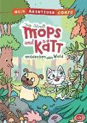 Cover-Bild zu Schmidt, Vera: Mein Abenteuercomic - Mops und Kätt entdecken den Wald (eBook)
