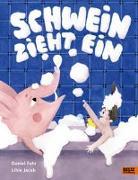 Cover-Bild zu Schwein zieht ein von Fehr, Daniel
