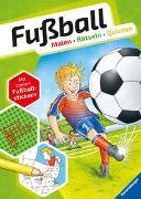 Cover-Bild zu Fußball. Malen - Rätseln - Quizzen von Honnen, Falko