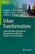 Cover-Bild zu Urban Transformations von Kabisch, Sigrun (Hrsg.)