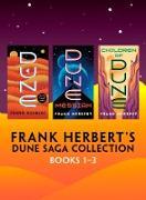 Cover-Bild zu Frank Herbert's Dune Saga Collection: Books 1-3 (eBook) von Herbert, Frank