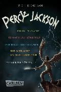 Cover-Bild zu Percy Jackson: Band 1-5 der spannenden Abenteuer-Serie in einer E-Box! (Percy Jackson) (eBook) von Riordan, Rick