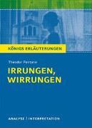 Cover-Bild zu Irrungen, Wirrungen von Theodor Fontane von Fontane, Theodor