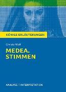 Cover-Bild zu Medea. Stimmen von Christa Wolf. Königs Erläuterungen (eBook) von Wolf, Christa
