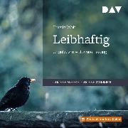Cover-Bild zu Leibhaftig (Audio Download) von Wolf, Christa