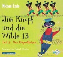 Cover-Bild zu Jim Knopf und die Wilde 13 Teil 2. Der Magnetfelsen von Ende, Michael