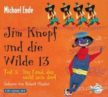 Cover-Bild zu Jim Knopf und die Wilde 13 Teil 3. Das Land, das nicht sein darf von Ende, Michael