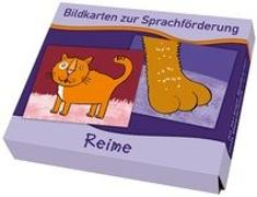 Cover-Bild zu Bildkarten zur Sprachförderung: Reime von Boretzki, Anja (Illustr.)