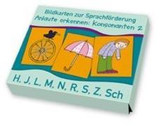 Cover-Bild zu Bildkarten zur Sprachförderung: Anlaute erkennen: Konsonanten 2 von Boretzki, Anja (Illustr.)