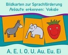Cover-Bild zu Bildkarten zur Sprachförderung: Vokale. Neuauflage von Verlag an der Ruhr, Redaktionsteam