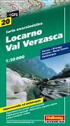 Cover-Bild zu Locarno-Val Verzasca Wanderkarte Nr. 20, 1:50 000. 1:50'000 von Hallwag Kümmerly+Frey AG (Hrsg.)